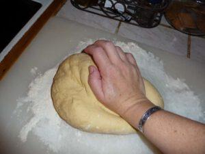 Eenhand kneed brood oudersvannaturepuntnl