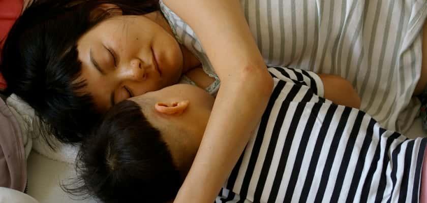 Japanse tiener slaap seks