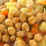 Kikkererwtensoep met zoete aardappel