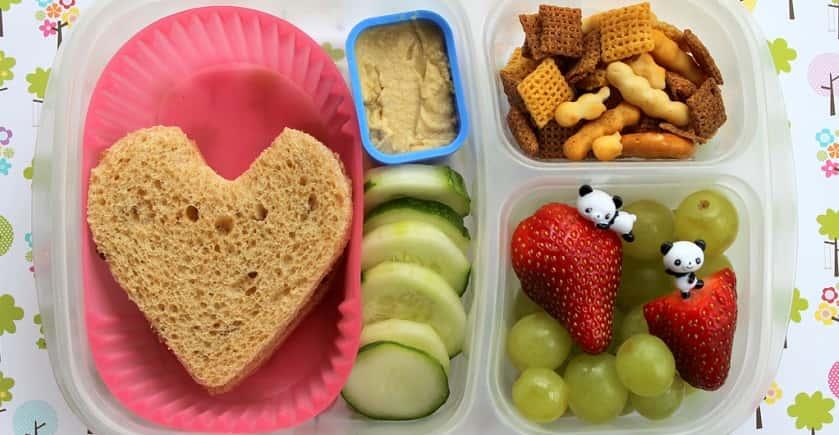 Verrassend Gezonde lunch op school | Ouders van nature HS-46