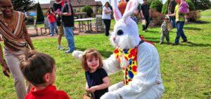 Kinderuitjes met Pasen
