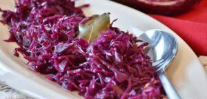 vegetarisch recept rode kool