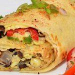 recept veganistische wraps met bonen